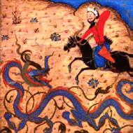 بررسی نقش اژدها در شاهنامه دموت و بایسنقری